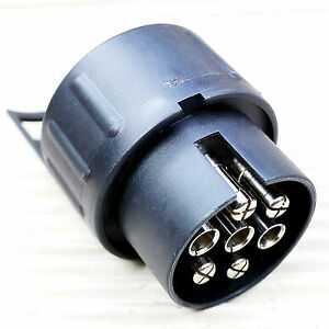 thule adapter 9906 von 7 poligem stecker auf anschlu 13 polige steckdose ebay. Black Bedroom Furniture Sets. Home Design Ideas