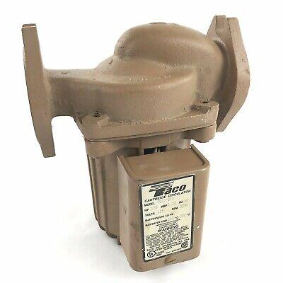 Taco 0010 Bronze Hot Water Circulator Pump 18 Hp 0010-bf3 High Velocity