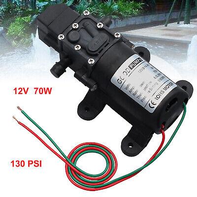 Water Pump 130psi 12v Self Priming Pump Diaphragm High Pressure Automatic Switch