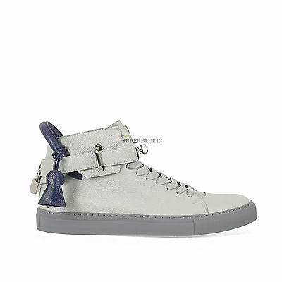 BUSCEMI 100MM KEY AND PADLOCK HI TOP SNEAKERS FREE SHIPPING