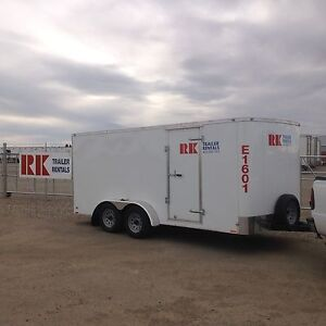 Enclosed trailers for rent
