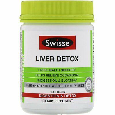 Swisse  Ultiboost  Liver Detox  180 Tablets