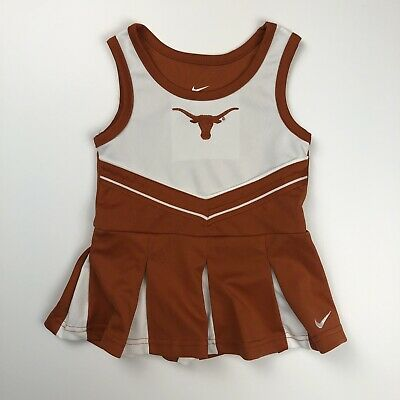 Girls Football Outfits (University Texas Football Girls Cheerleader Outfit size 18 mo NIKE)