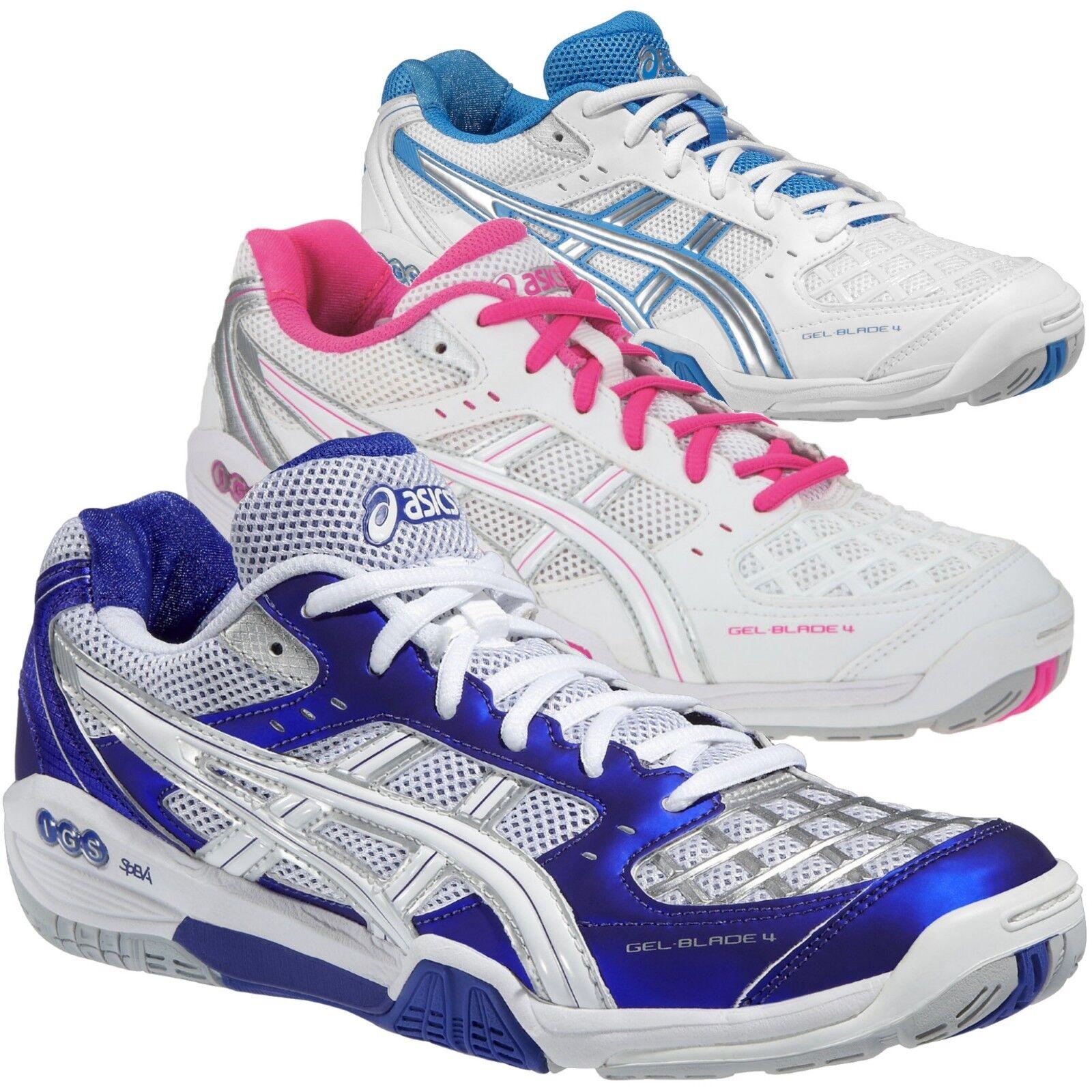 Asics GEL-BLADE 4 Damen Hallenschuhe Multicourt/Badminton/Squash R355N 3 Farben