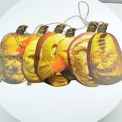 Halloween Spooky Pumpkins Face Banner Teenager Party Decorations Party Supply (Teenage Halloween Party Decorations)