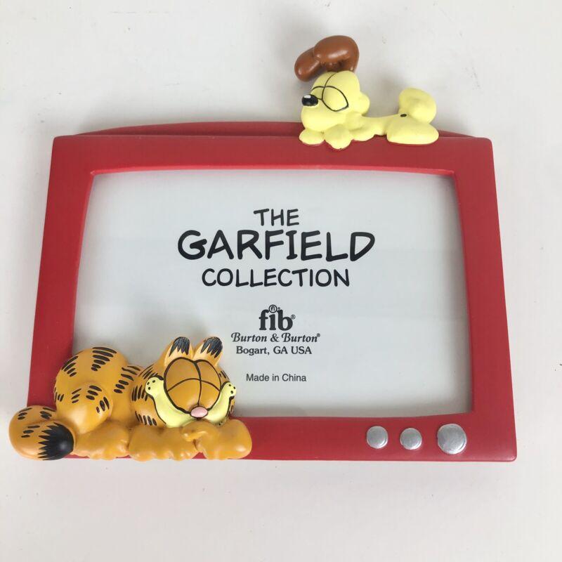 Garfield and Odie Photo Picture Frame 4x6 Burton & Burton Paws VTG TV Cartoon