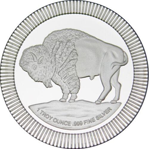 SilverTowne Buffalo Stackables 1oz .999 Silver Medallion (3pc)