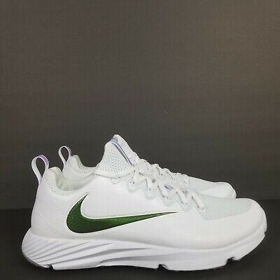 Metallic White (NIKE VAPOR SPEED TURF SUPER BOWL LII 52 EDITION WHITE/METALLIC MEN'S)
