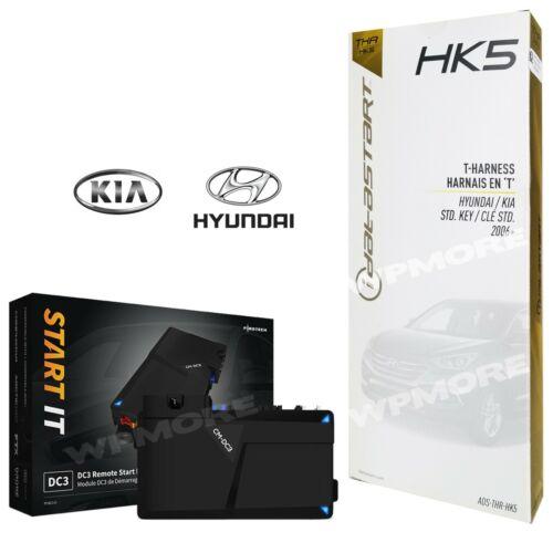 Firstech FT DC3 LC Remote Start 3X LOCK Select Hyundai Kia Standard Key 2010 UP