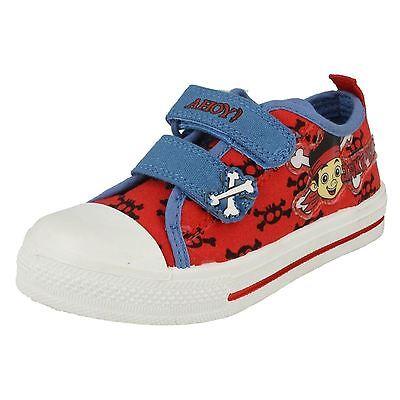 Jungen Knochen (Jungen Disney Rot Blau Leinen UK Kinder 5-10 Jake Knochen)