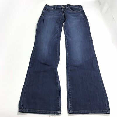 American Eagle Women's Jeans 4 Long Tall 4T Dark Wash Slim Boot Cotton Stretch  4t Jeans