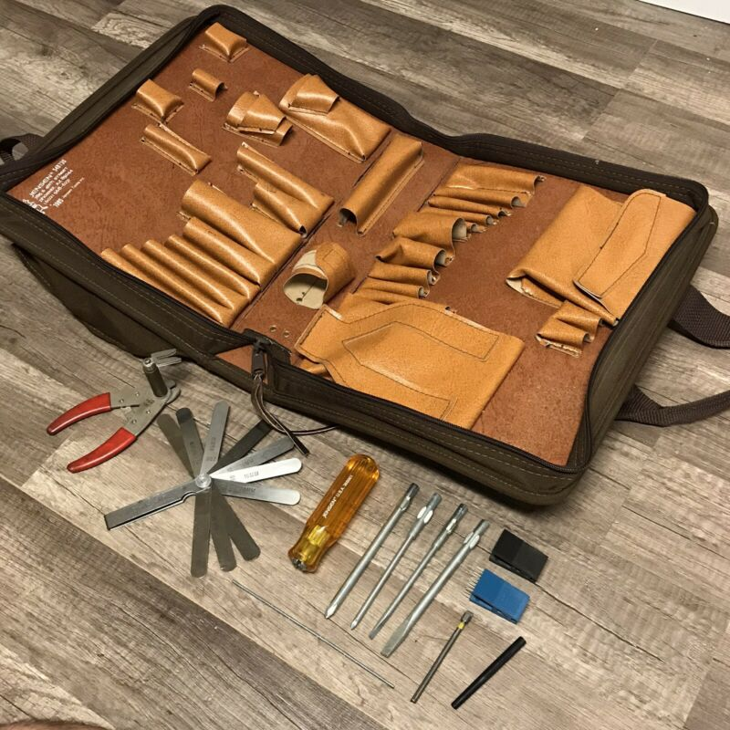 Jensen Tools Electrician Tool Kit Case# 54B730