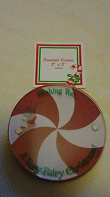Tinkerbell Merchandise (DISNEY PARKS MERCHANDISE Tinker Bell Christmas Coaster Picture)