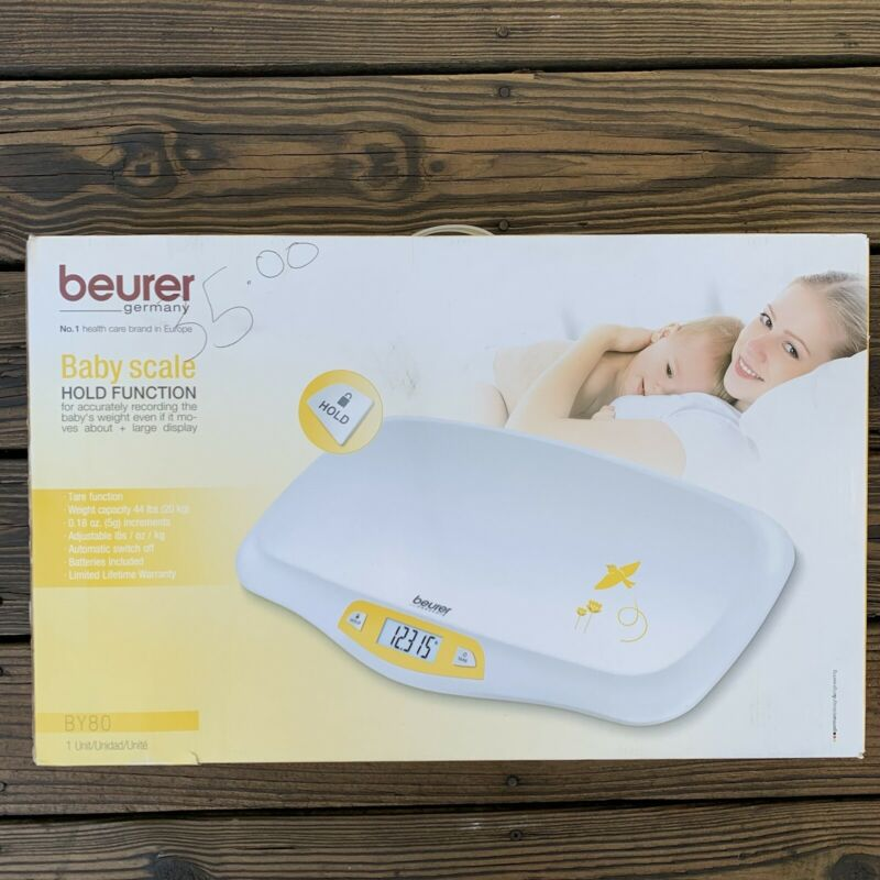 Beurer BY80 Baby Scale Pet Scale Digital For Infant Newborns Puppy Cats Open Box