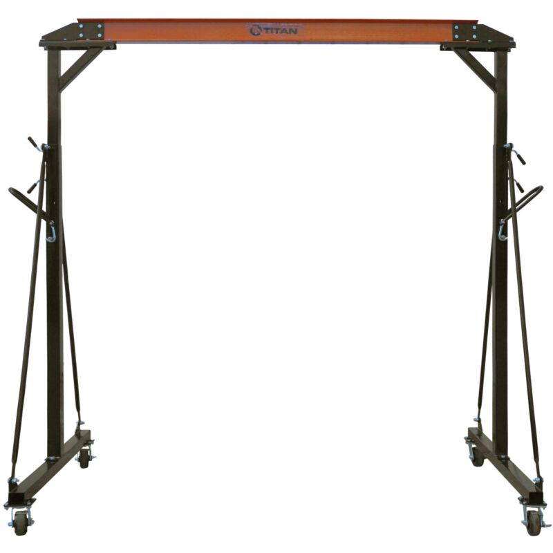 Titan Adjustable Gantry Crane - 2000 lb Capacity
