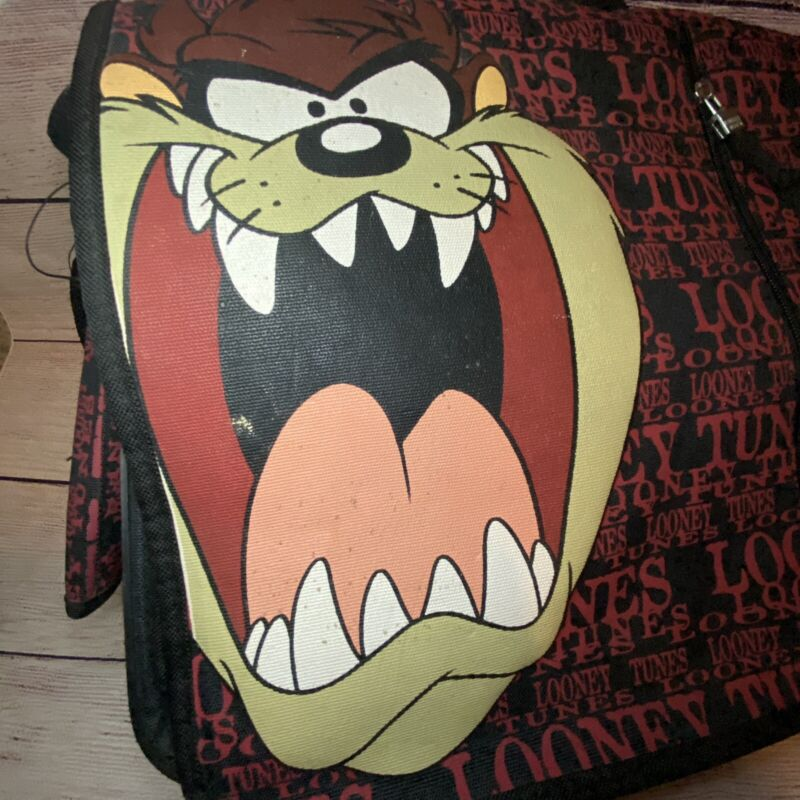 Looney Tunes Tasmanian Devil Messenger Bag