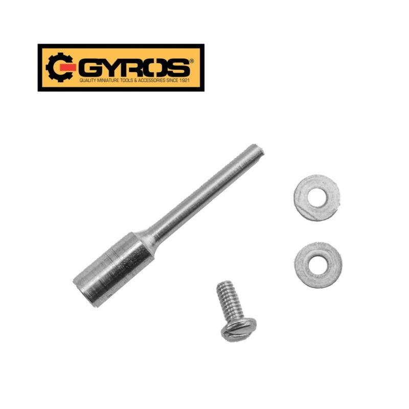 Gyros 80-18100 Mandrel, 1/8-Inch Shank-Stainless Steel, Fits 1/8-Inch Arbor Hole