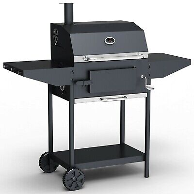 BillyOh Kentucky Smoker BBQ Charcoal Grill Outdoor Hooded Barbecue with Chimney