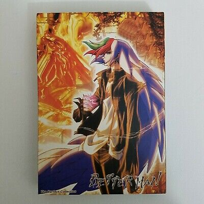 Better Man Anime DVDs The Perfect Collection Vol 1 - 4 Episodes 1 - (Best Sci Fi Anime)