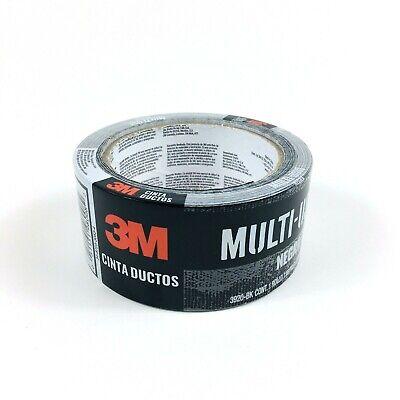 Brand New Sealed 3m Black Duct Tape Multipurpose Waterproofing 1.88x20yd 3920