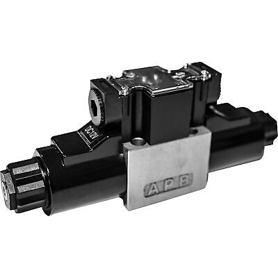 Grh Nickel-plated Hydraulic Directional Control Valve 16.5 Gpm 4560 Psi
