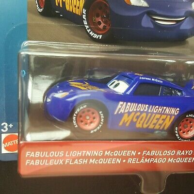 DISNEY PIXAR CARS FABULOUS LIGHTNING MCQUEEN FLORIDA 500 2019 SAVE 6% GMC