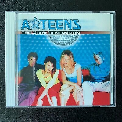 A TEENS The ABBA Generation CD 1999 Stockholm Records Release Excellent