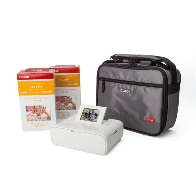Canon Selphy CP1200 CP2x RP-108 DCC-CP2 Fotodrucker weiß