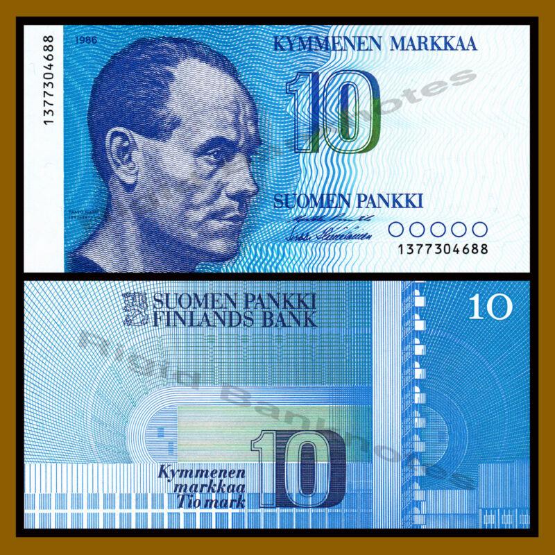 Finland 10 Markka, 1986 P-113a Unc