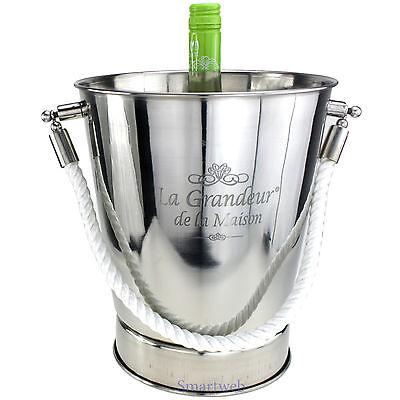 Sektkühler Champagnerkühler Weinkühler Flaschenkühler Champagnerschal EDELSTAHL