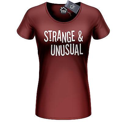 Strange and Unusual Womens Tshirt Halloween Costume Freak Ladies Top Girls 446