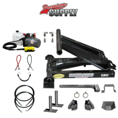 3 Ton (6,000 lb) Dump Trailer Hydraulic Scissor Hoist Kit – PH310 - Power Hoist