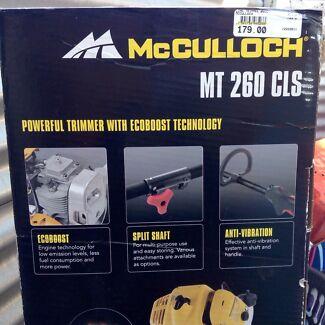 McMulloch MT 260 CLS Edge line Trimmer BNIB Kallangur Pine Rivers Area Preview