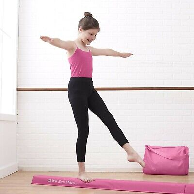 9' Foam Folding Gymnastics Tumbling Balance Beam for Beginners