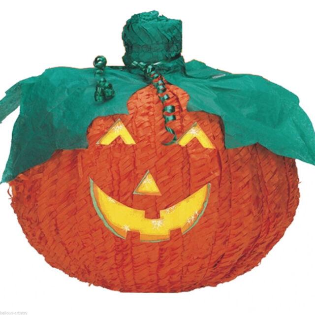 Haunted Halloween 3D Pumpkin Jack O'Lantern BASH Pinata Decoration Game