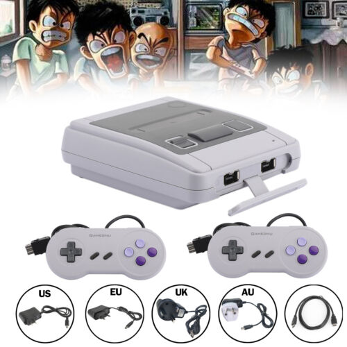 HDMI Output Retro Game Console 621 Built-in 1 Classic Games + 2 Controllers
