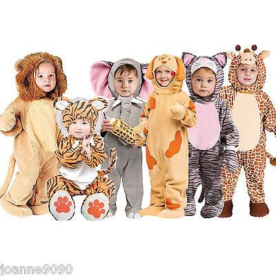 Deluxe Jungen Mädchen Baby Kleinkind Tier Zoo Halloween Kostüm (Deluxe Baby Kostüme)