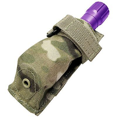 CONDOR MA48 Tactical MOLLE Carabiner Flashlight Knife Pouch Holster Multicam