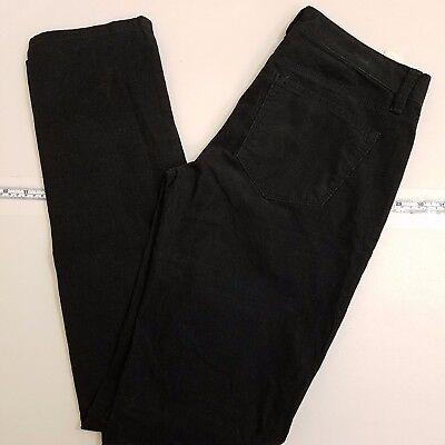 Ann Taylor Corduroy Pants Women's Size 2 Modern Slim Fit Black NEW -