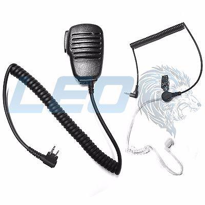 Leo Speaker Mic And 3.5mm Listen Only Earpiece Motorola C...