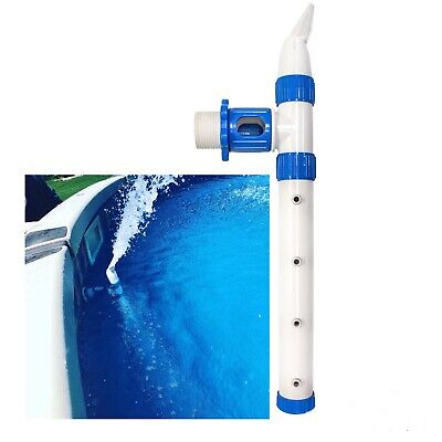 Swimming pool water fountain Cleaner, Extra Circulation. Jett Flo Fountain Water Cleaner
