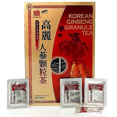 Korean Ginseng Powdered Tea 300g(10.6oz), 3g X 100bags Free shipping Korea