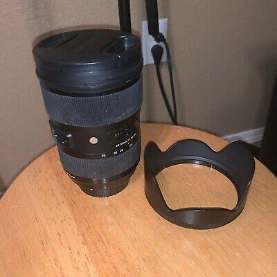 Sigma 24-35mm f2 canon