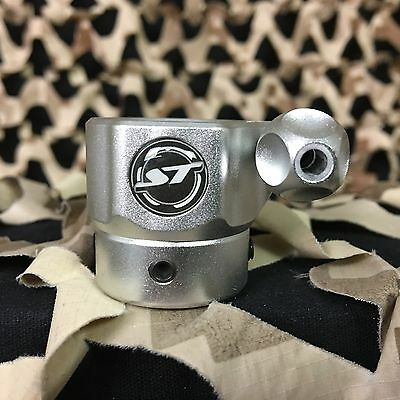 NEW Shocktech EGO Clamping Feed Neck Upgrade Feedneck - Dust Silver