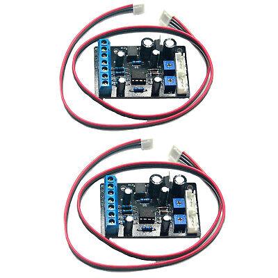 2pc Ta7318p Pre-amp Pcb Driver Board Meter Db Level Vu Header Meter Driver Board