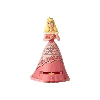 Enesco E8 Disney Jim Shore Dornröschen Aurora W / Tiara Anhänger Figur