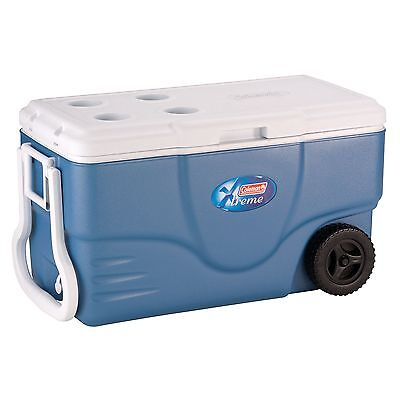 Coleman 62 Quart Xtreme® Wheeled Cooler Free Shipping New