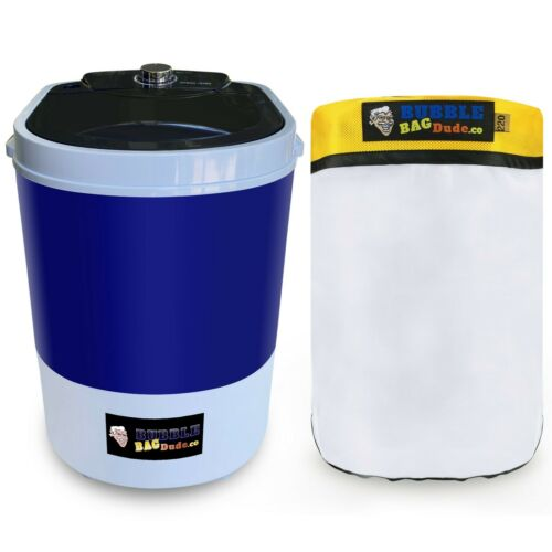 BUBBLEBAGDUDE Bubble Machine 5 Gallon with free 220 micron zipper bag