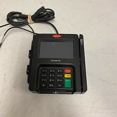 Ingenico Isc250 Touch Pos Cc Payment Terminal Tested And Working