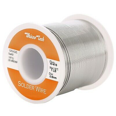 60-40 Tin Rosin Core Solder Wire Electrical Soldering Sn60 Flux .0310.8mm 1lb
